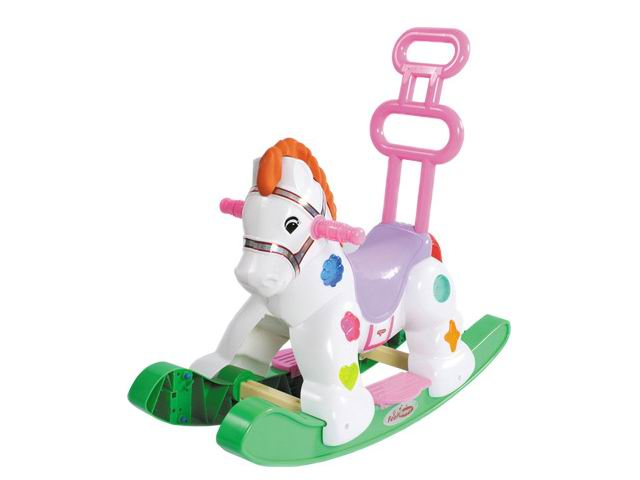 Buy Settled baby toys rocking horse without music or light