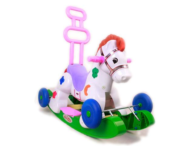 Buy Switchable toys ride-on horse with music and light