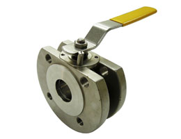 Ball Valve Wafer Type 1-Piece Full Port