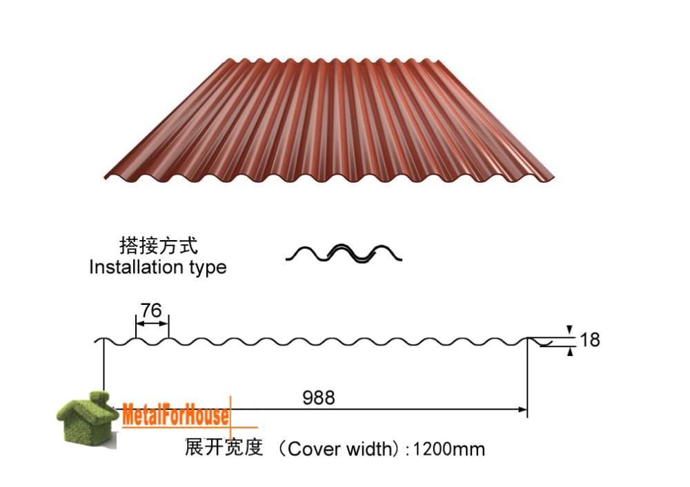 Buy Corrugated Metal Sheet