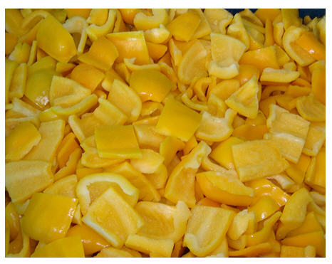 Buy IQF Yellow Pepper Cubes