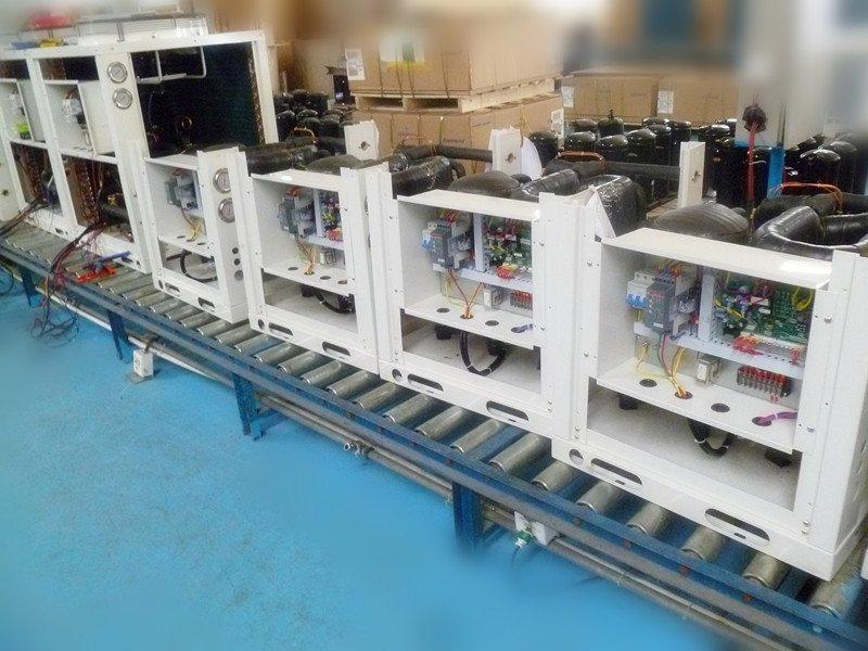 Heat pump water to water CLITECH 60HZ (7KW 11KW 14KW)