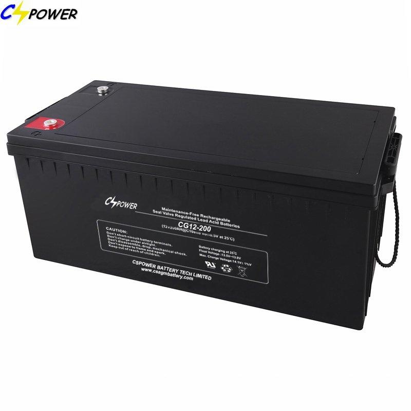 Buy Solar Accumulator Solar Gel Battery with 15years Life 12V200ah