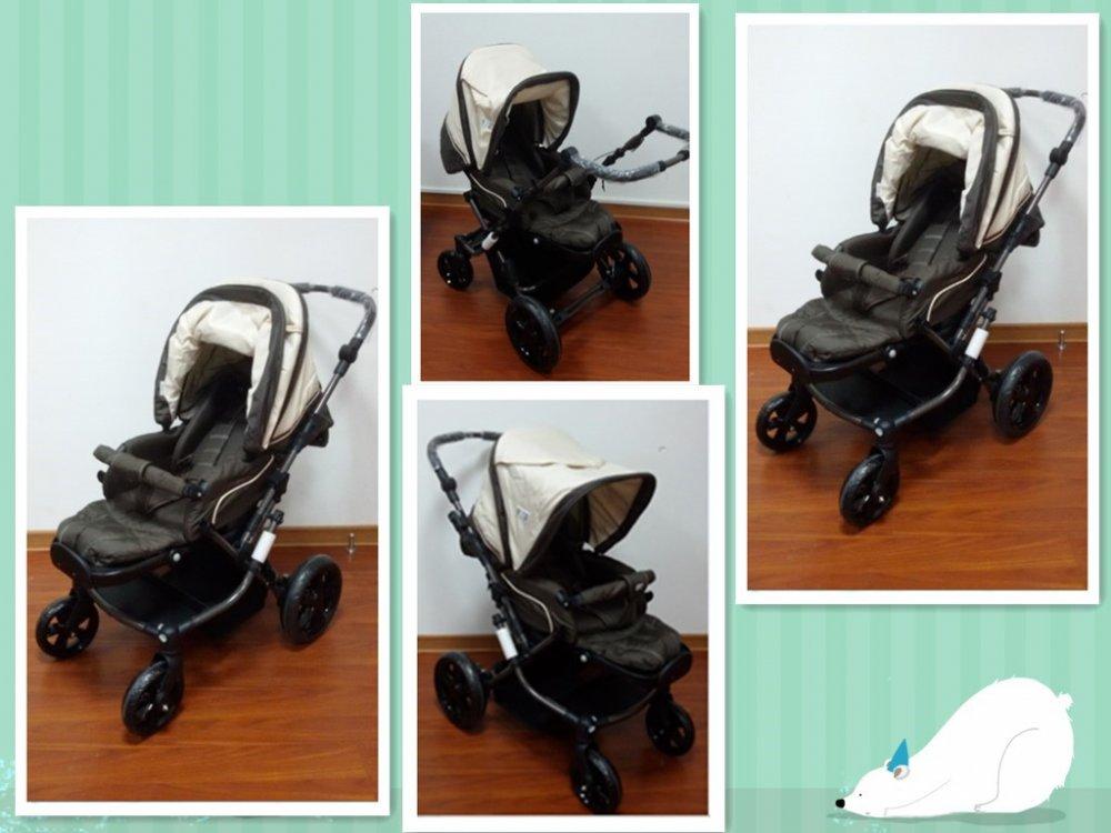 Buy Коляска детская (трансформер), модель Brown