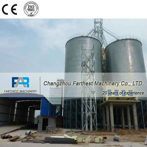 Buy Flat Bottom Steel Silos For Grain Storage