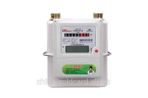 Buy Ic card prepaid smart diaphragm gas meter G4
