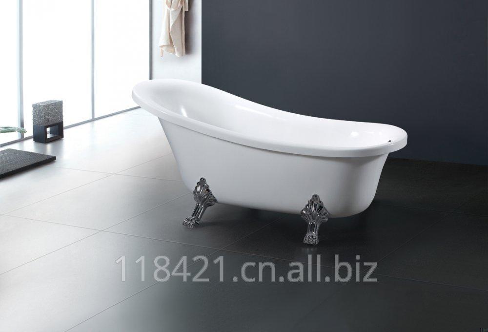 Free-standing acrylic bath K-8881