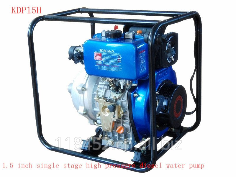 Buy KDP15H 1.5 inch high pressure diesel water pump