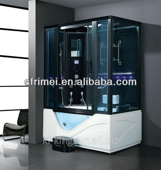 Buy Sanitary Wares Tempered Glass Steam Sauna Room With Sliding Door K-7040B
