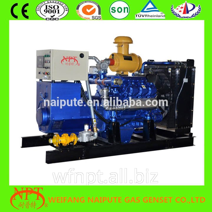 100KW Wood gas generator with CE certificate