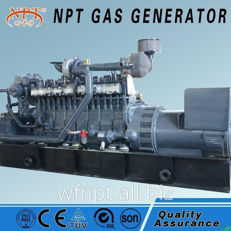 天然气发电机10-1000KW CE和ISO认证