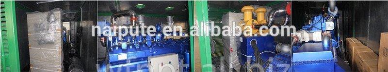 Generator 10-350 kW biomass gasification