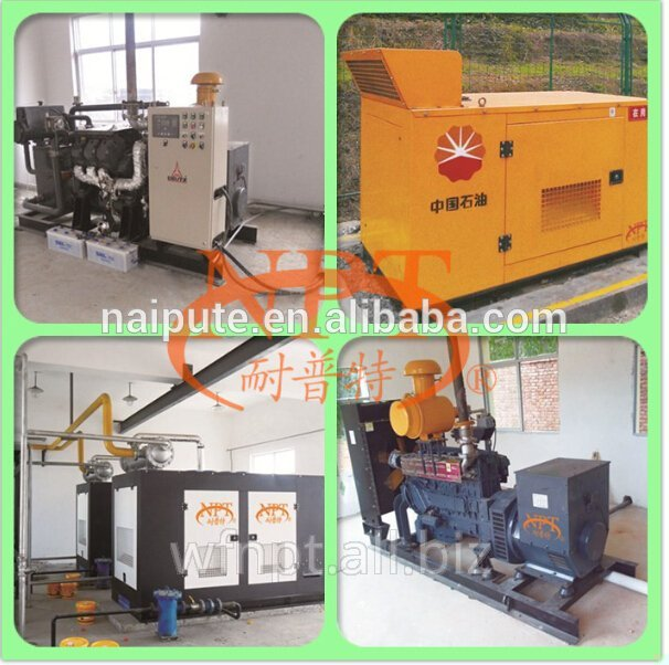 10-350kW Woodchips / Biomass gas Driven Generator