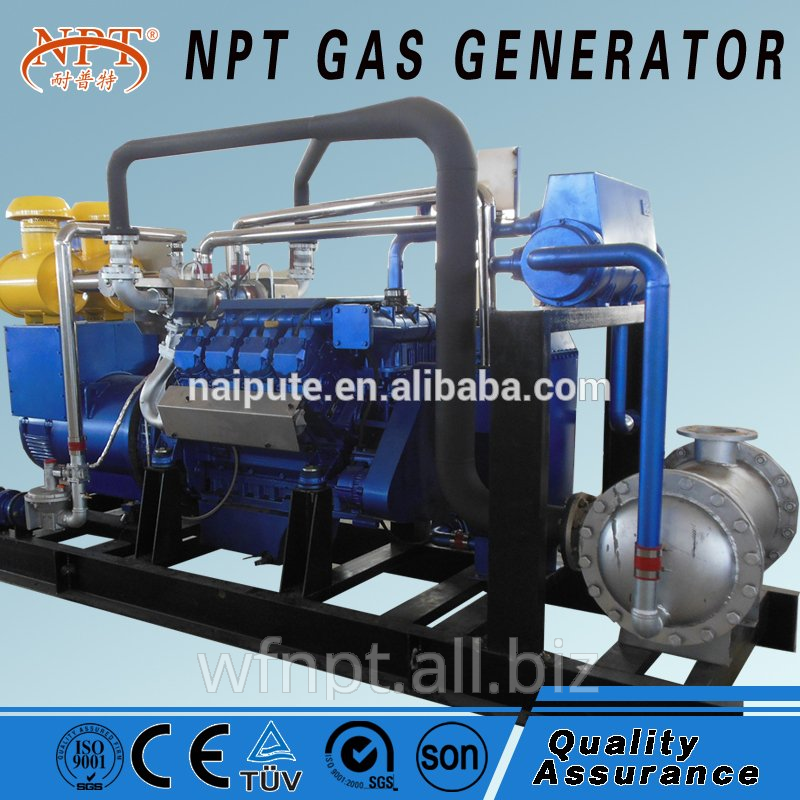 10-500 kW generator of biomass with CHP