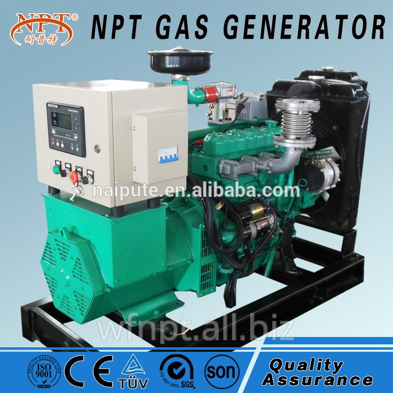 10kva ce nature gas generator from Weifang factory
