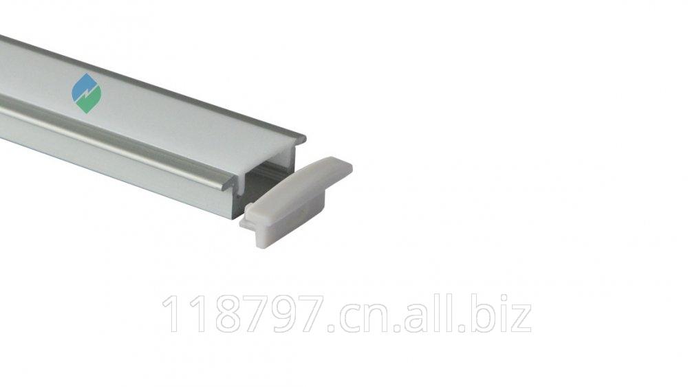 Buy Super slim 7mm recessed aluminum LED profile with flange HL-BAPL001