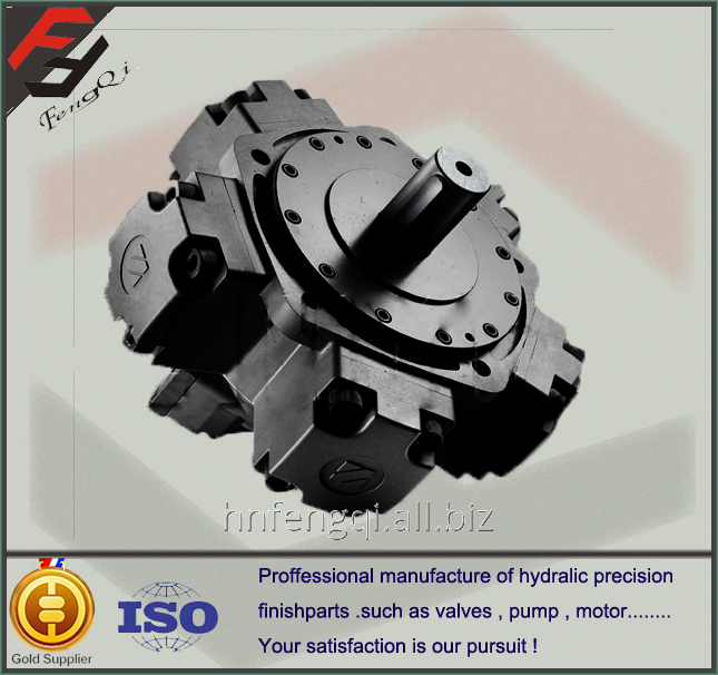 中国低速大扭矩液压马达五星级径向柱塞马达