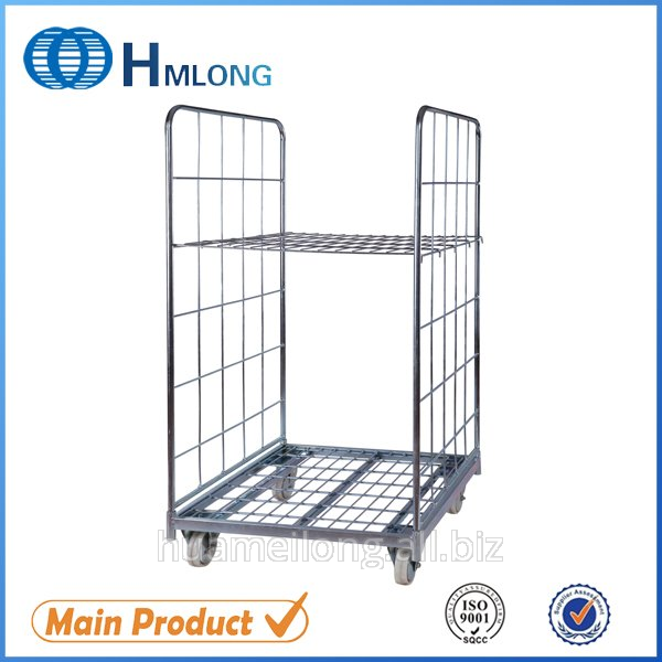 شراء BY-07 Metal wire mesh equipment storage roll cage