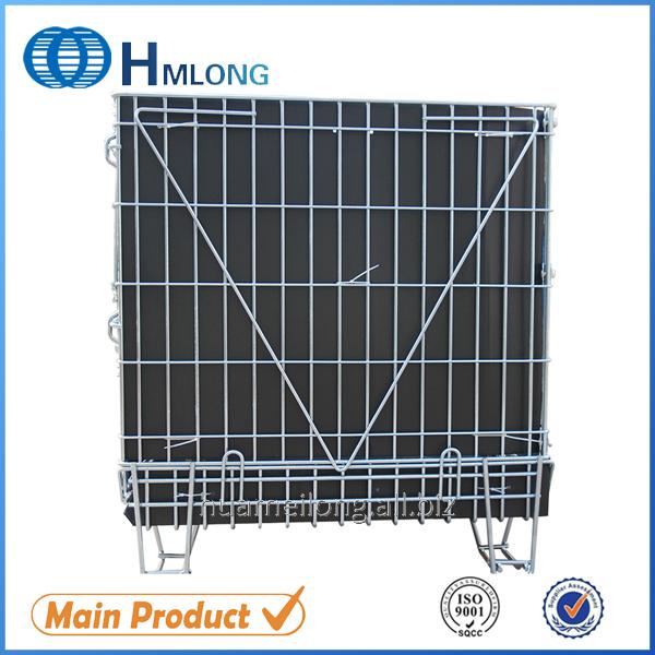 Buy F-14 Euro warehouse storage wire mesh pallet cage