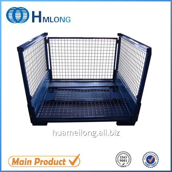 T7 Hot Sale Galvanized Storage Wire Mesh Cage For Auto Industry