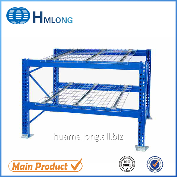 Buy Industrial F channel wire mesh metal box beam wire deck