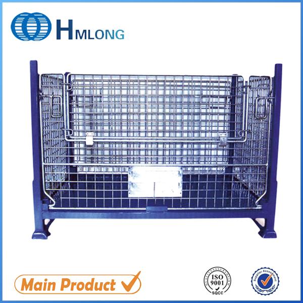 BEM Промышленные прочный стальной поддон контейнер для хранения авто запчастей