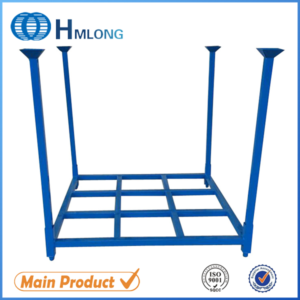 Buy HML6060 Foldable steel storage tyre stacking rack