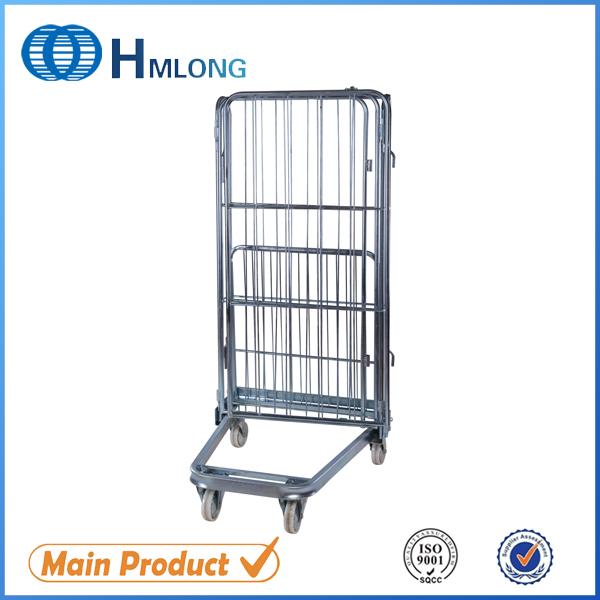Купить BY-08 Изолированная складная сетка стальная ролл контейнер