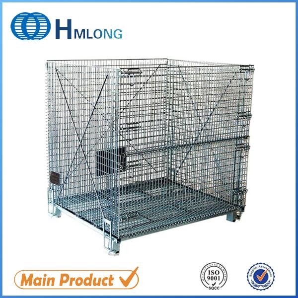 Купить W-10 Штабелируемый провода сетки сверхмощная стальная клетка контейнер ящик коробка корзина