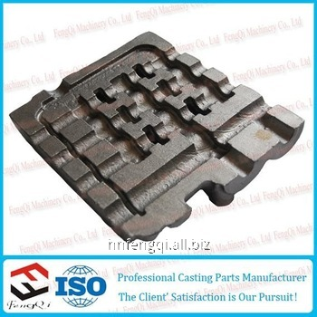 Shaped cast iron castings