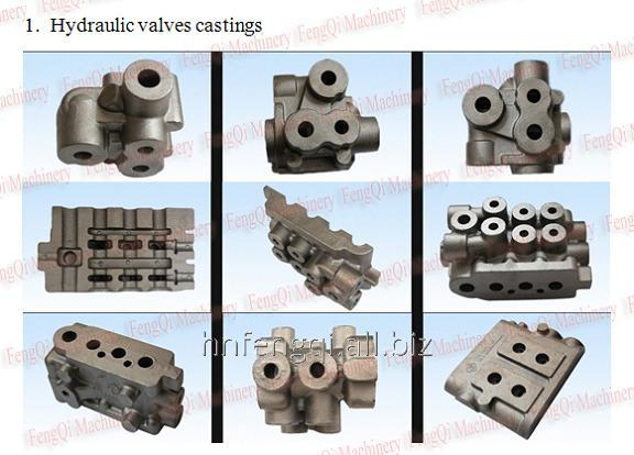 Castings, valve castings