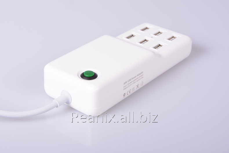 USB charger 6 socket  12A