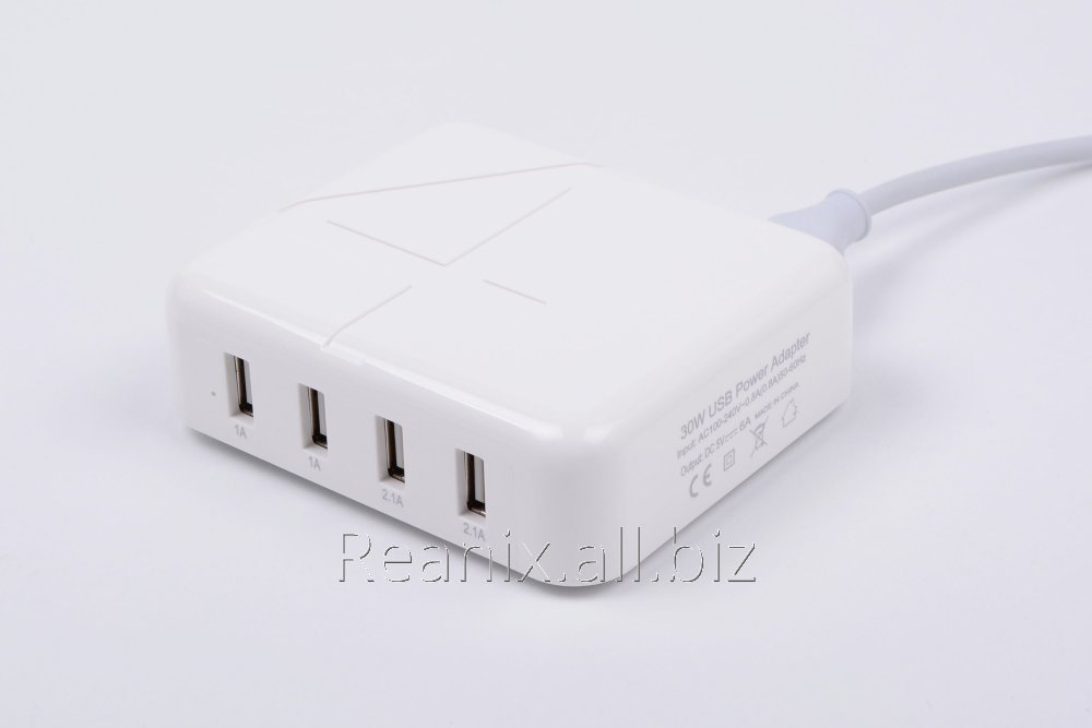 USB charger 4 socket HW-190