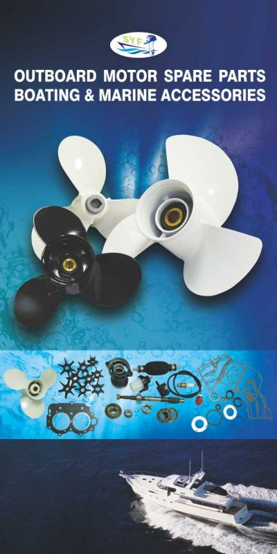 Spare parts for outboard motor, jet ski, inboard motor, off road and motorcycle.