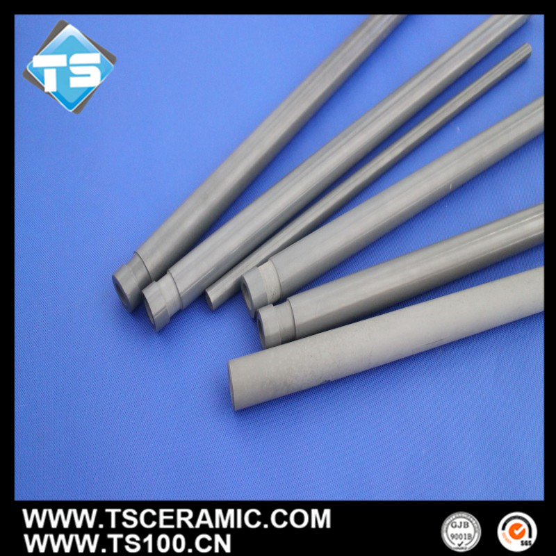 Nitride Bonded Si Thermocouple Protection Tube /Thermocouple Sheath for Temperature Control