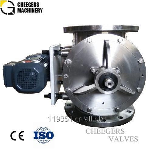 Rotary Airlock Valve for Calcium Ammonium Nitrate Powder