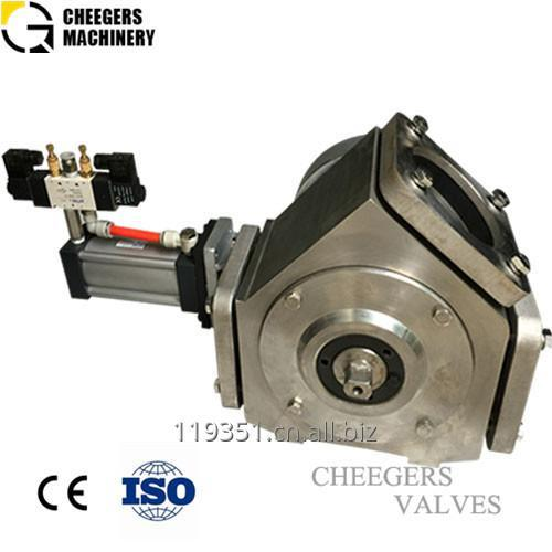 Cheegers Two Way Valve for Bulk Conveying System
