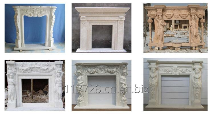 Камины из натурального камня,Fireplaces made of natural stone