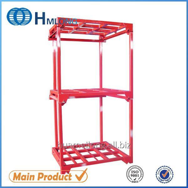 Buy Nestainer Warehouse storage pallet steel stacking rack