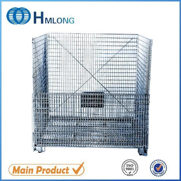 Купить W-10 Евро сваренная стекируемые металлической проволоки сетки контейнер