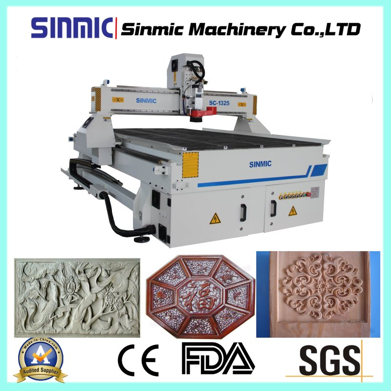 3D CNC Wood Carving Machine/Wood CNC Router Machine Price 1325