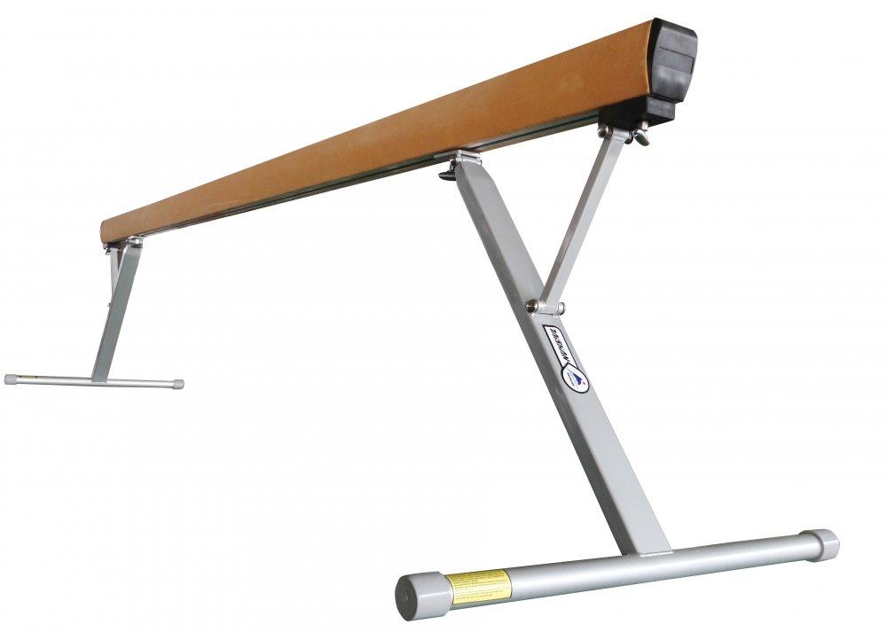 购买 Taishan brand Gymnastic Standard Balance beam, Gym beam, smooth,Length 5 m,adjustable scope 70-125cm