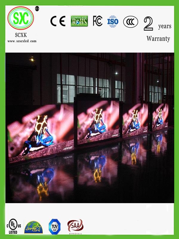购买 P4 Indoor LED Display Screen IP43 SMD Led Digital Display ROHS