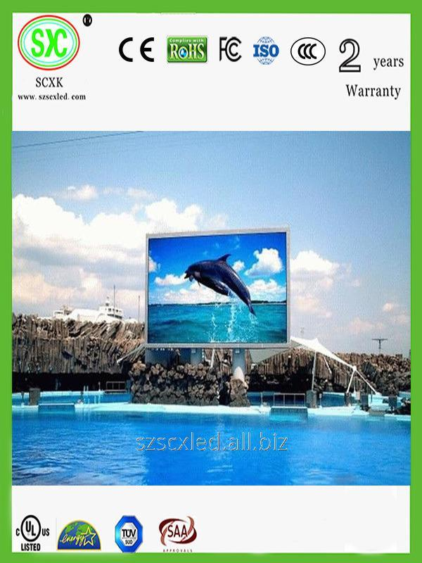LED screens for pools