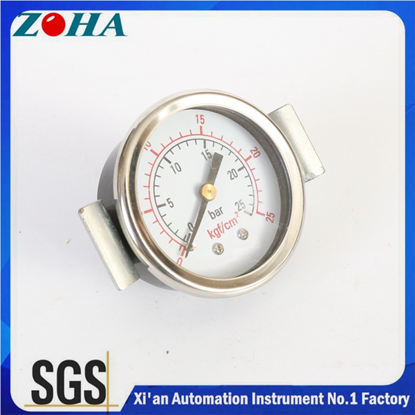 U-Clamp Panel Mount pressure gauge