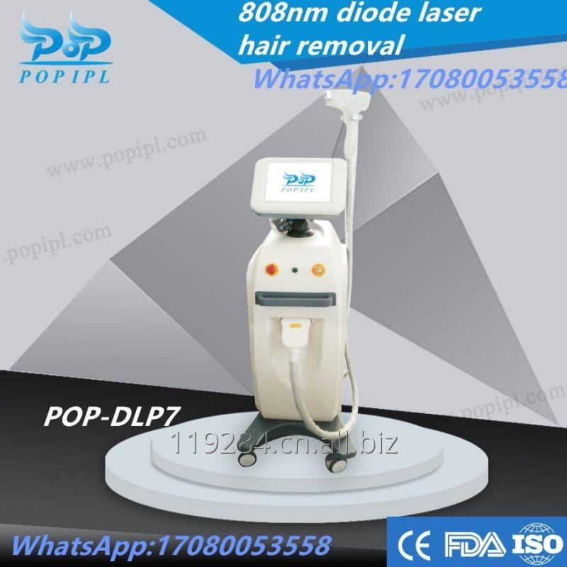 Diode Laser 808nm machine for hair removal with CE POP- DL7 Laser 808nm