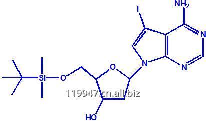 购买 7-脱氮-5'-O-(叔丁基二甲基硅烷基)-2'-脱氧-7-碘-D-腺苷