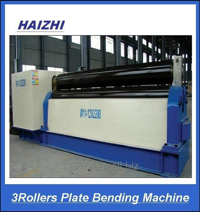 3rollers plate bending machine metal bellow expansion joint forming