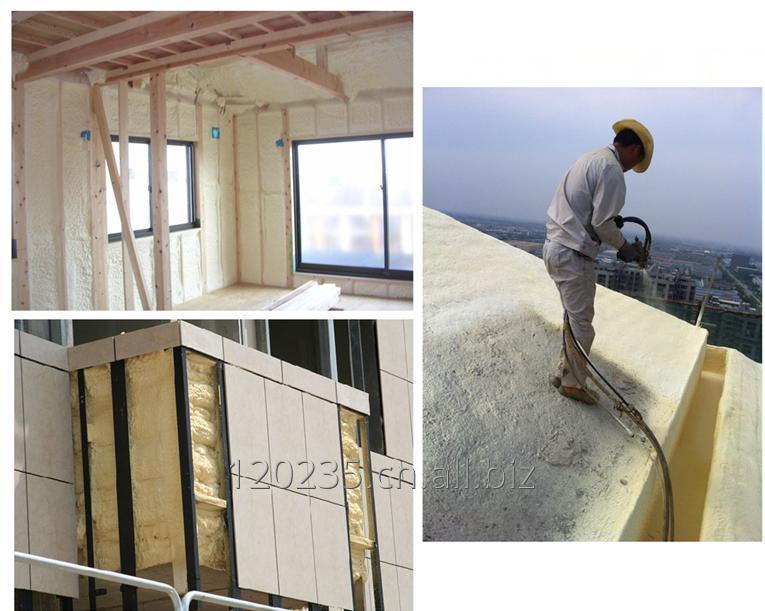 购买 Two components polyurethane spray polyurethane foam for insulation