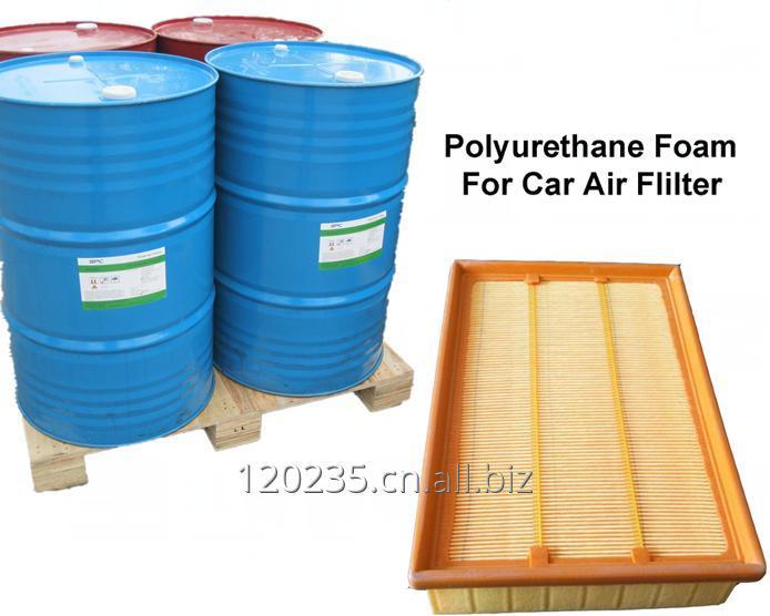 购买 PU car fliter air with polyol resilience polyurethane filter material